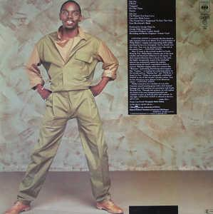 Back Cover Album Philip Bailey - Continuation