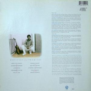 Back Cover Album Earl Klugh - Whispers And Promises