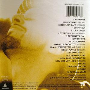 Back Cover Album Jon B - Pleasures U Like