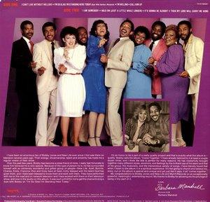 Back Cover Album Bobby Jones And New Life - Come Together