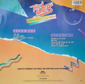 Back Cover Album The Jets - Magic