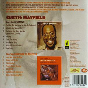 Back Cover Album Curtis Mayfield - Something To Believe In
