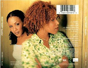 Back Cover Album Mary Mary - Thankful