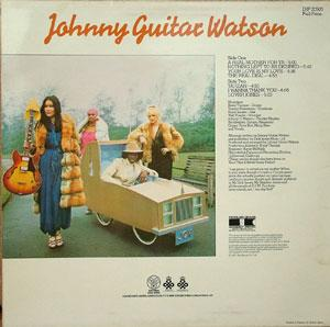 Back Cover Album Johnny Guitar Watson - A Real Mother