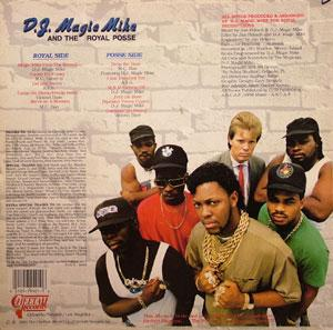 Back Cover Album D.j. Magic Mike & The Royal Posse - DJ Magic Mike and the Royal Posse