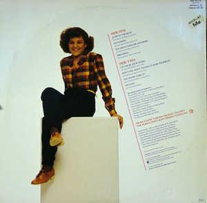 Back Cover Album Stacy Lattisaw - Let Me Be Your Angel