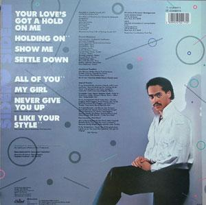 Back Cover Album Lillo Thomas - All Of You