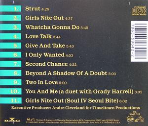 Back Cover Album Tyler Collins - Girls Nite Out