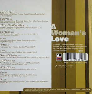 Back Cover Album Vaneese Thomas - A Woman's Love