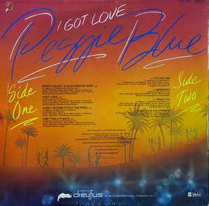 Back Cover Album Peggi Blu - I Got Love