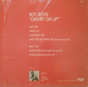Back Cover Album Roy Ayers - Drivin' On Up