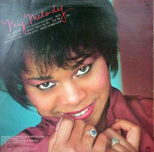 Back Cover Album Deniece Williams - My Melody