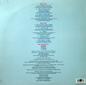 Back Cover Album The Dramatics - Stone Cold