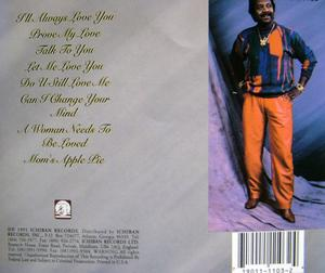 Back Cover Album Tyrone Davis - I'll Always Love You