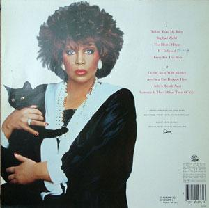 Back Cover Album Patti Austin - Gettin Away With Murder