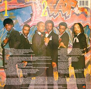 Back Cover Album Grandmaster Flash And The Furious Five - They Said It Couldn't Be Done