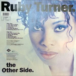 Back Cover Album Ruby Turner - The Vibe Is Right