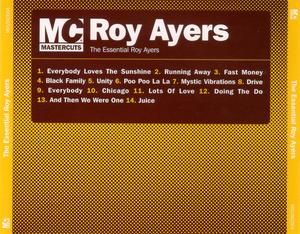 Back Cover Album Roy Ayers - The Essential Roy Ayers