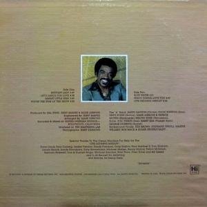 Back Cover Album Syl Johnson - Uptown Shakedown