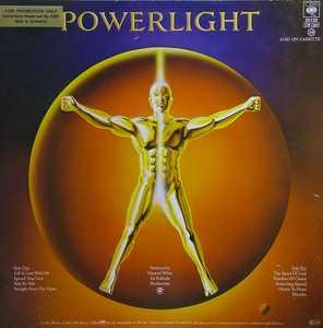 Back Cover Album Wind & Fire Earth - Powerlight