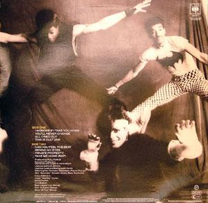 Back Cover Album Lisa Lisa & Cult Jam - Can You Feel The Beat