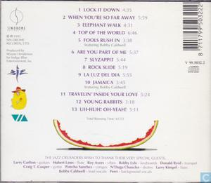 Back Cover Album Crusaders - Happy Again