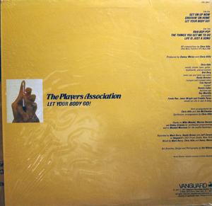 Back Cover Album Players Association - Let Your Body Go