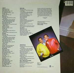 Back Cover Album The Valentine Brothers - Have A Good Time