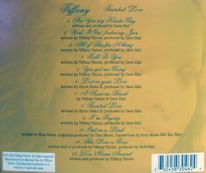 Back Cover Album Tiffany - Tainted Love
