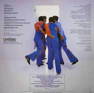 Back Cover Album The Trammps - Slipping Out
