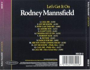 Back Cover Album Rodney Mannsfield - Let's Get It On