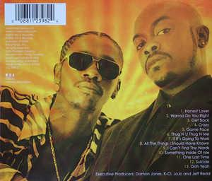 Back Cover Album K-ci & Jojo - X