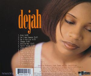 Back Cover Album Dejah - Dejah