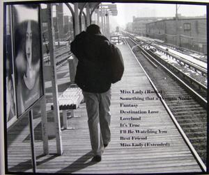 Back Cover Album Mike Avery - Destination Love