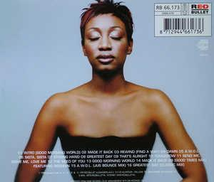 Back Cover Album Beverley Knight - Prodigal Sista