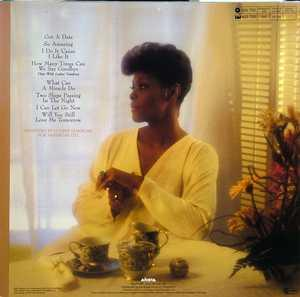 Back Cover Album Dionne Warwick - How Many Times Can We Say Goodbye
