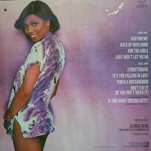 Back Cover Album Dee Dee Bridgewater - Bad For Me