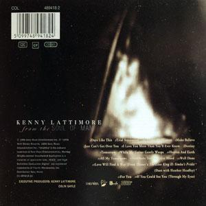 Back Cover Album Kenny Lattimore - From The Soul Of Man