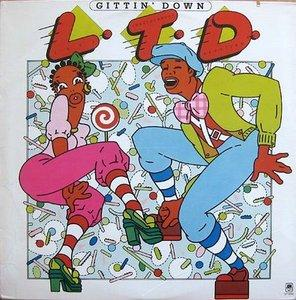 Front Cover Album L.t.d. - Gittin' Down