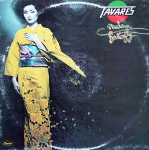 Front Cover Album Tavares - Madam Butterfly