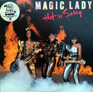 Front Cover Album Magic Lady - Hot 'N' Sassy