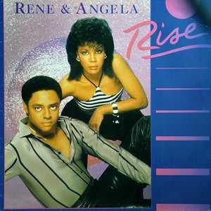 Front Cover Album René And Angela - Rise