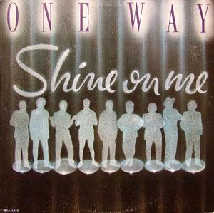Front Cover Album One Way - Shine On Me