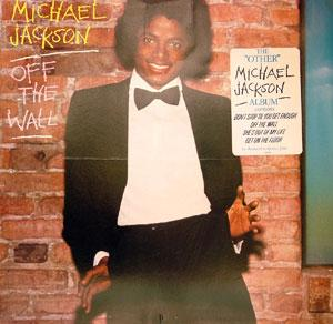 Front Cover Album Michael Jackson - Off The Wall