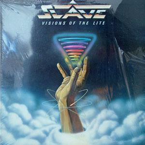 Front Cover Album Slave - Visions Of The Lite