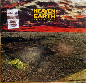 Front Cover Album Heaven & Earth - That's Love