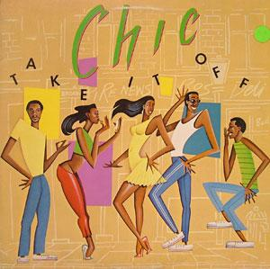 Front Cover Album Chic - Take It Off