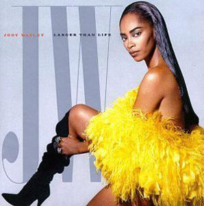 Front Cover Album Jody Watley - Larger Than Life