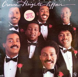 Front Cover Album Crown Heights Affair - Think Positive