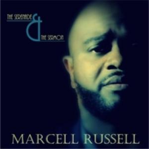 Front Cover Album Marcell Russell And The Truth - The Serenade & The Sermon
